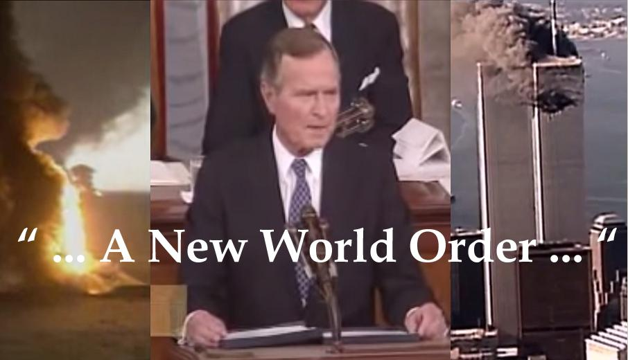 "September 11, 1990, George Bush Declares ""New World Order,"" Begins Endless Wars"